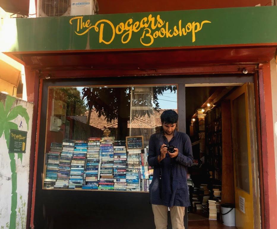 Bookstores of goa, bookshops of goa, things to do in goa, offbeat things to do in goa, goa for booklovers, books and goa, libraries in goa, what are the fun things to do in goa, things to do in goa, moonlitekingdom, sudeepta sanyal, goa library, fun things to do in goa, places to visit in goa, goa tourism, goa travel, slow travel goa